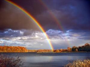Leo 26 A rainbow
